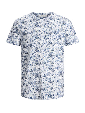 FLORAL POCKET PREMIUM T-SHIRT