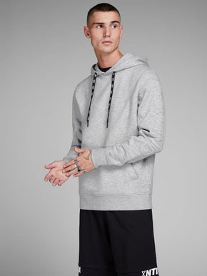 CORE HOODIE WITH EMBOSSED SLEEVES