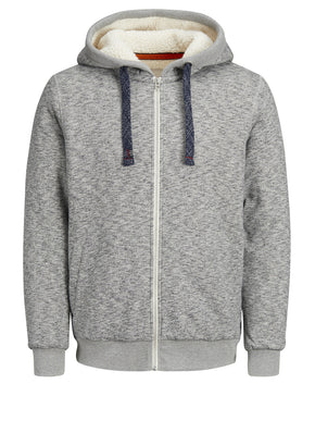 HEAVY HOODIE WITH TEDDY LINING