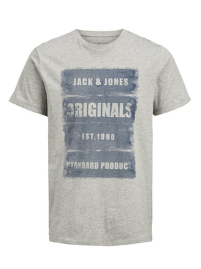 ORIGINALS T-SHIRT WITH FADED LOGO