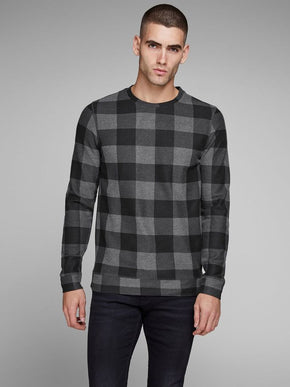 CHECKERED PREMIUM SWEATSHIRT