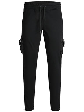 SWEATPANTS WITH MILITARY DETAILS