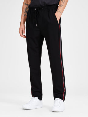 ATHLETIC STYLE TAPERED JOGGERS