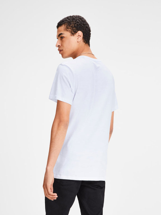 FINAL SALE – ORIGINALS STATEMENT T-SHIRT WHITE