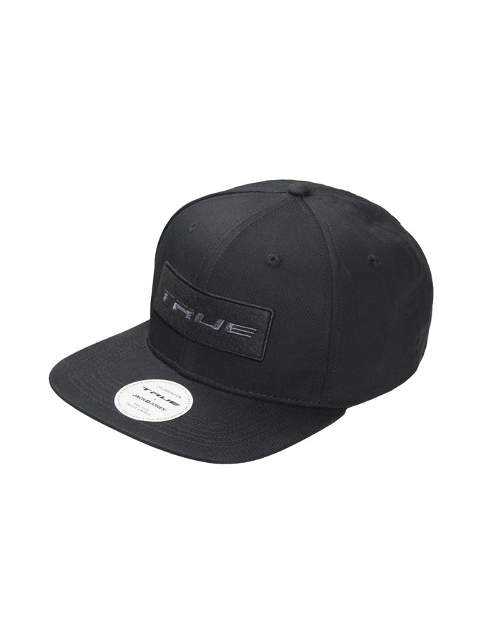 TRUEXCORE BADGE SNAPBACK HAT BLACK