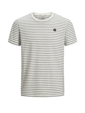 HEATHERED ORIGINALS T-SHIRT WITH STRIPES