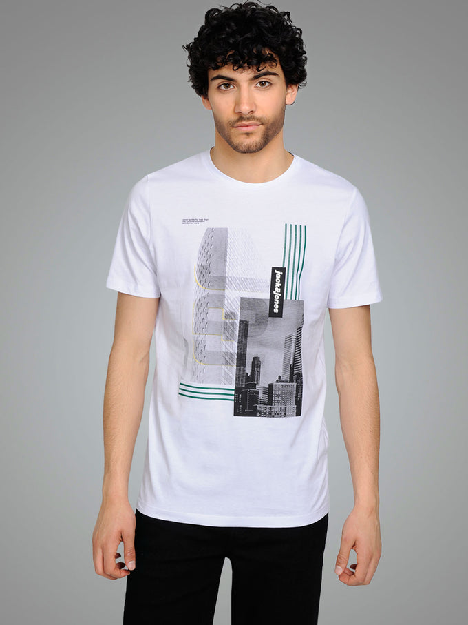 CORE SKYSCRAPER T-SHIRT WHITE