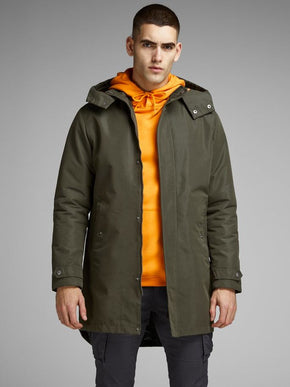 PARKA WITH REVERSIBLE BACK