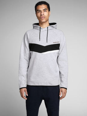 CORE HOODIE WTIH CROSS-OVER NECK