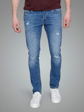 SKINNY FIT LIAM 820 JEANS WITH USED DETAILS