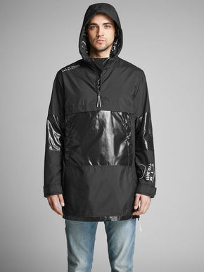 CORE ANORAK WITH SHINY DETAILS