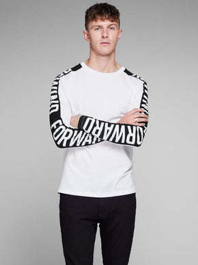 LONG SLEEVE REWIND FORWARD T-SHIRT