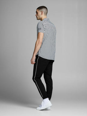 JOGGER PANTS WITH WHITE STRIPES