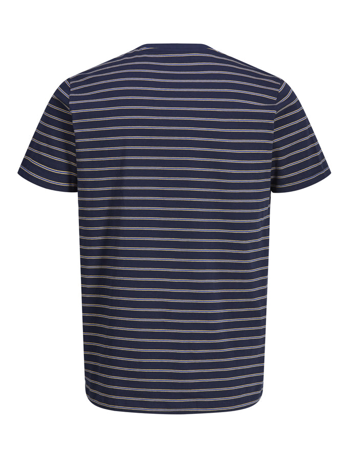 T-SHIRT WITH RETRO STRIPES TOTAL ECLIPSE