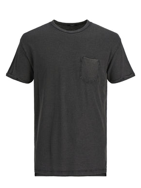 HIGH-LOW PREMIUM POCKET T-SHIRT