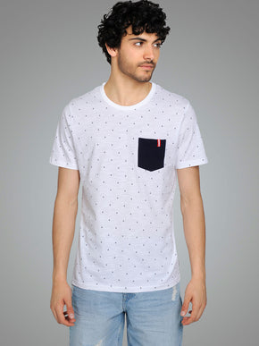 CORE T-SHIRT WITH AMPERSAND PRINT