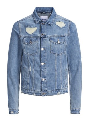 2789f4362f3a52 DISTRESSED DENIM JACKET