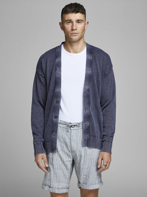 BUTTON-DOWN PREMIUM CARDIGAN