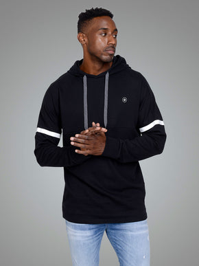 ATHLETIC STYLE LONG FIT HOODIE