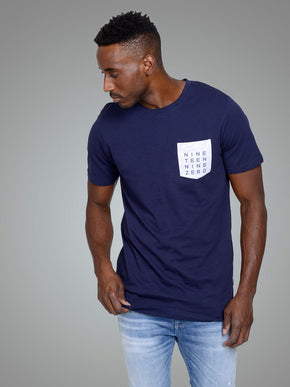 LONG FIT CORE T-SHIRT WITH POCKET