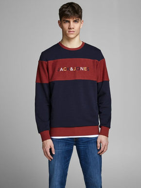 SWEATSHIRT WITH RETRO LETTERING