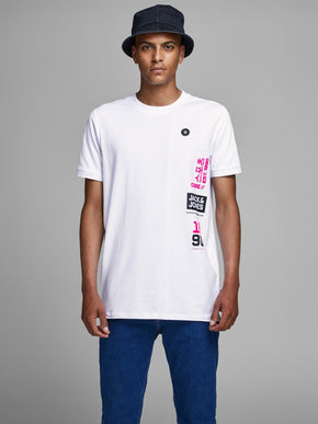 ASIA INSPIRED LONG FIT T-SHIRT
