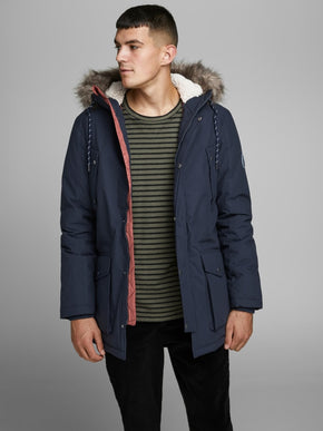 ORIGINALS PARKA WITH FAUX-FUR HOOD
