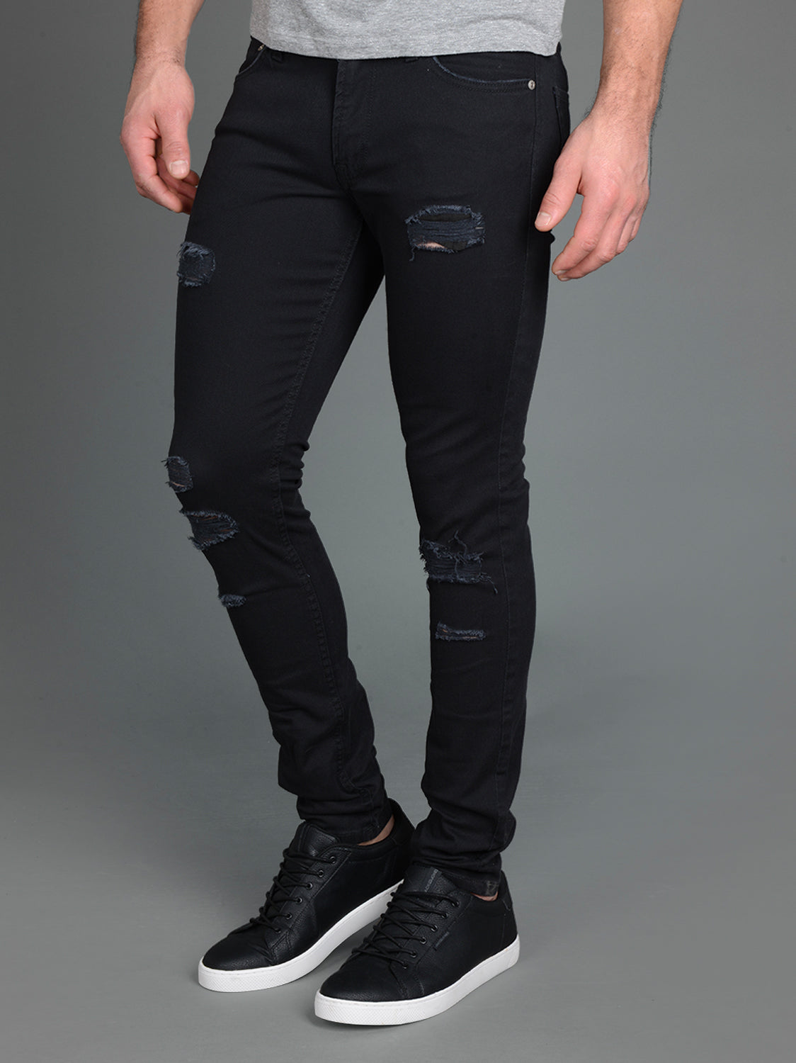 SKINNY FIT RIPPED LIAM 571 JEANS