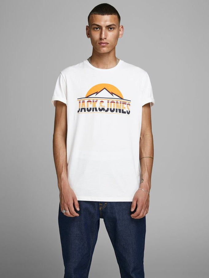 MOUNTAIN ORIGINALS T-SHIRT CLOUD DANCER
