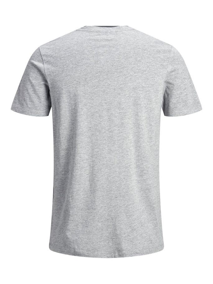 T-SHIRT MONTAGNE ORIGINALS GRIS PALE