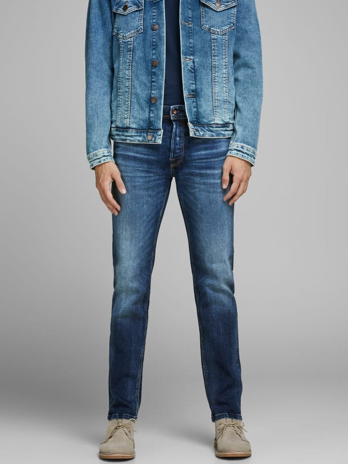 MIKE 311 COMFORT FIT JEANS BLUE DENIM