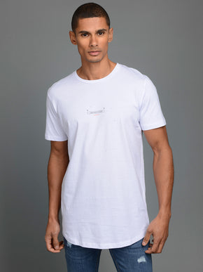 LONG FIT BARCODE T-SHIRT