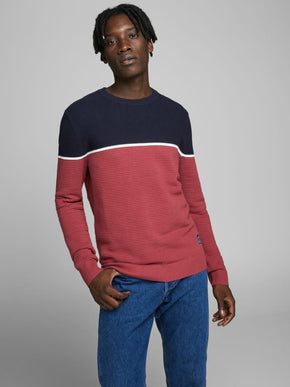 BRIT COLOURBLOCK SWEATER