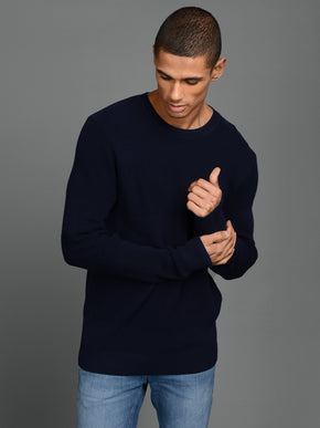 RIBBED PREMIUM SWEATER