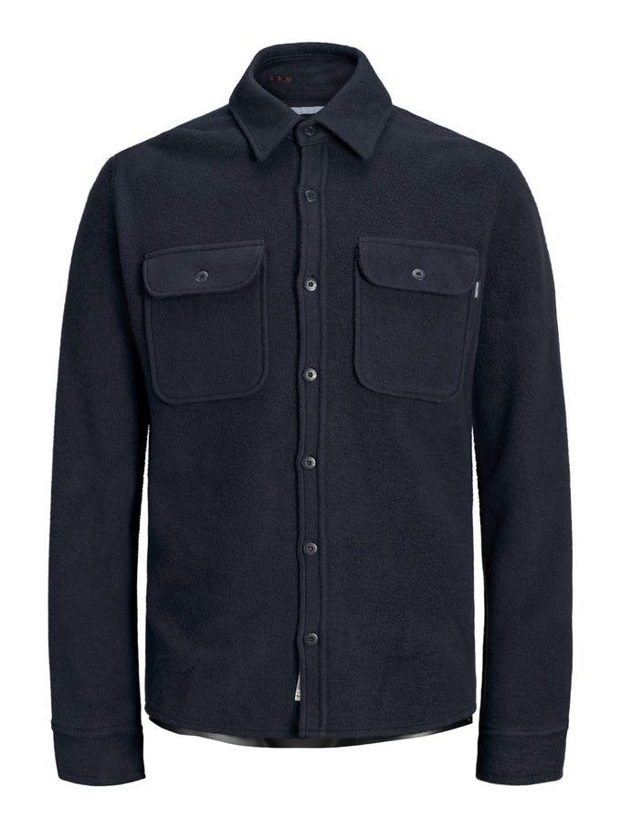 JAMES PREMIUM OVERSHIRT DARK NAVY