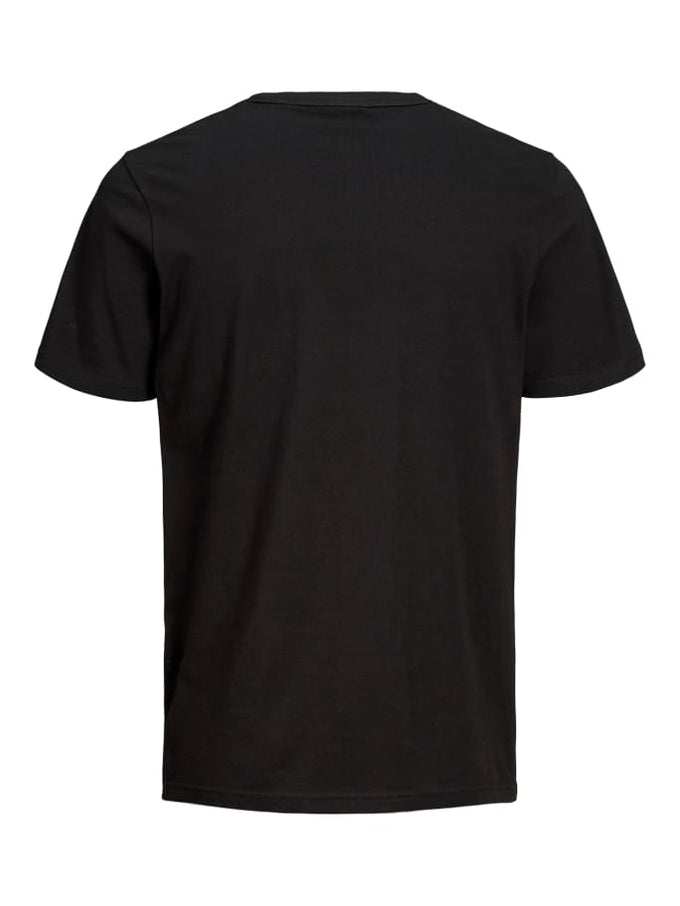 CHECK SHORT SLEEVE CORE T-SHIRT BLACK