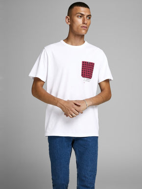 CHECK SHORT SLEEVE CORE T-SHIRT