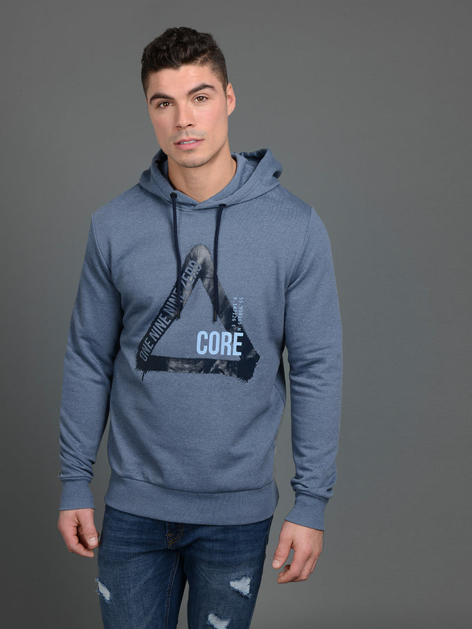 GLEN HOODIE CHINA BLUE