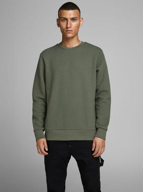 CORE TEXTURED SWEATSHIRT