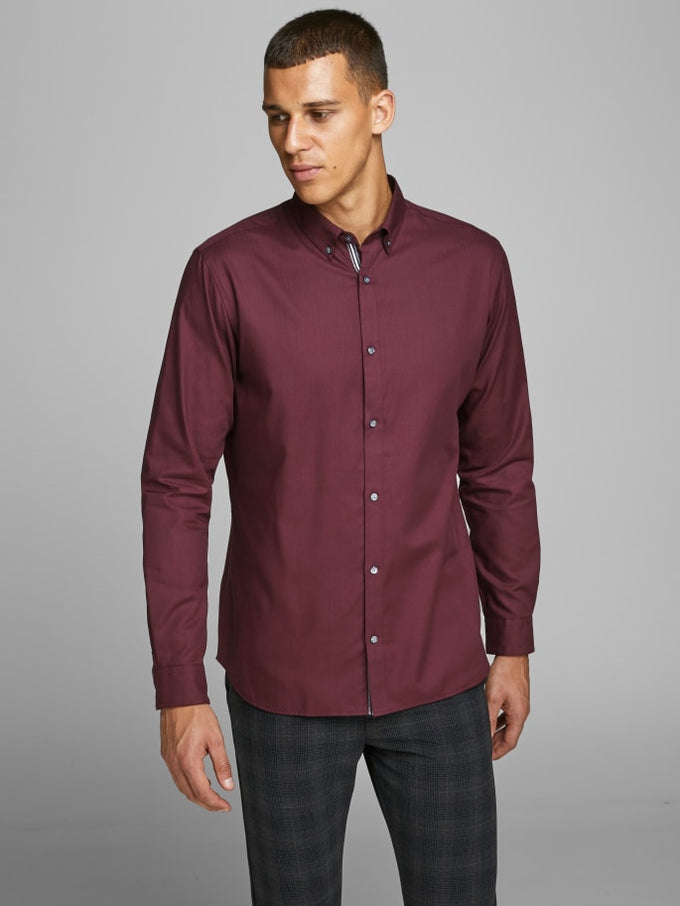 FOCUS SLIM FIT SHIRT PORT ROYALE