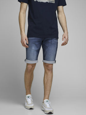 REX LONG DENIM SHORTS 021