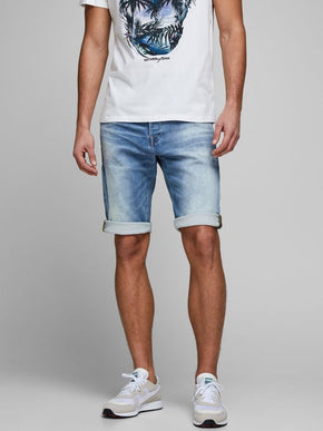 REX LONG DENIM SHORTS 022