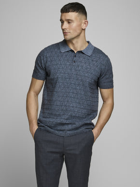 POLO FENCE KNIT