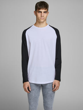ABEL LONG SLEEVE BASEBALL T-SHIRT