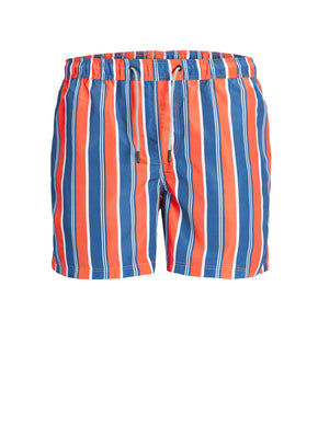 ARUBA STRIPE SWIM SHORTS