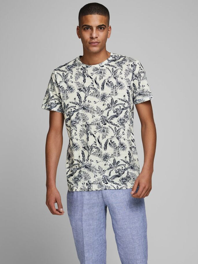 ORGANIC ELRON T-SHIRT CLOUD DANCER