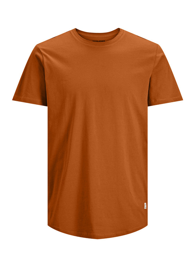 NOA LONG FIT CURVED T-SHIRT RUBBER