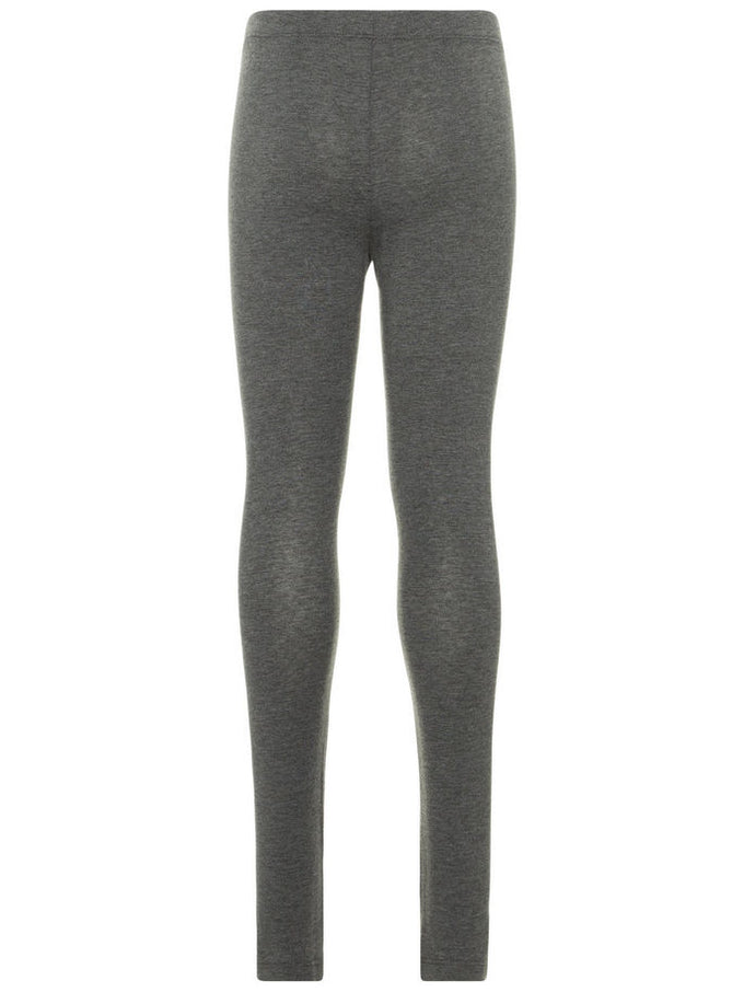 BASIC LEGGINGS DARK GREY MELANGE