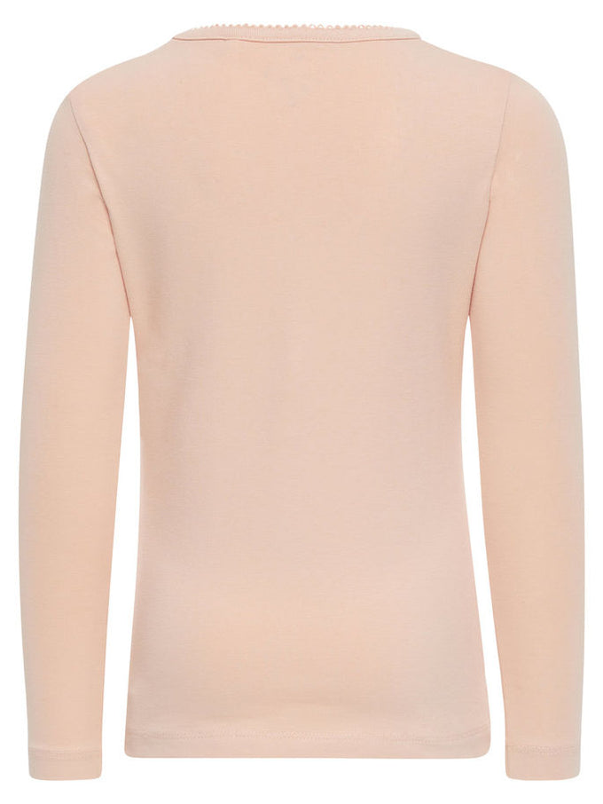 BASIC LONG SLEEVE T-SHIRT EVENING SAND