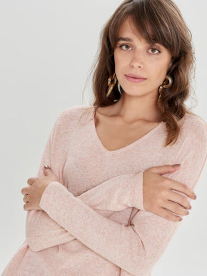 FINAL SALE - HIGH-LOW SOFT SWEATER